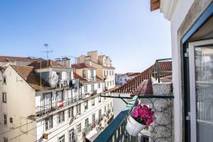 A balcony or terrace at LoveLisbonApartments Alfama Best Balcony
