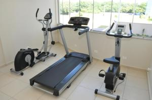 The fitness center and/or fitness facilities at Lotus Hotel
