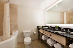 A bathroom at Hilton Suites Ocean City Oceanfront