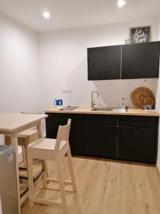 Kuchyňa alebo kuchynka v ubytovaní Apartment Dubnica Prejta