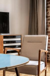 A seating area at Relaks Apartamenty
