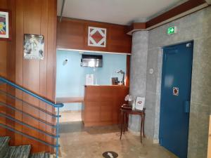 The lobby or reception area at ibis Styles Le Havre Centre