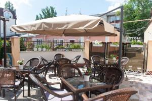 Un restaurant sau alt loc unde se poate mânca la Hotel Florence