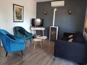Zona de estar de Casa Platgetes