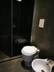 A bathroom at La Suite