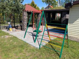 Children's play area at Guest House Lesnoe