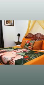 A bed or beds in a room at B&B Ventisei Scalini A Trastevere
