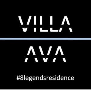 Placa ou logotipo da villa