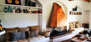 Ein Sitzbereich in der Unterkunft Roca Verde, Boutique Bed & Breakfast