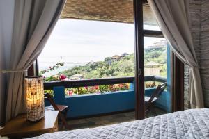 A balcony or terrace at La Pedrera Small Hotel & Spa