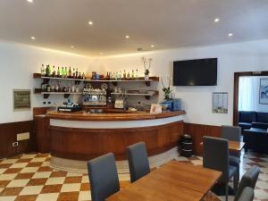 Lounge nebo bar v ubytování Hotel Sole