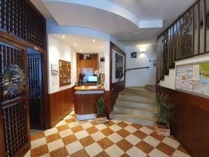 Vstupní hala nebo recepce v ubytování Hotel Sole