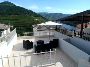 A balcony or terrace at Casa Rodrigues