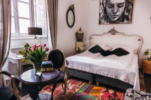 Letto o letti in una camera di Prijeko Palace