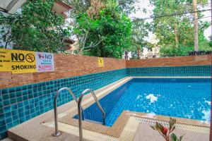 The swimming pool at or near S.K.House 2