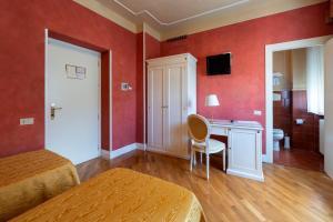 TV o dispositivi per l'intrattenimento presso Hotel Gennarino