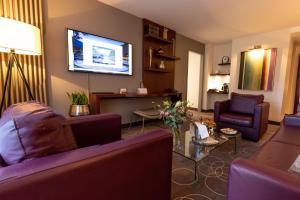 Area soggiorno di Grand Hotel des Bains