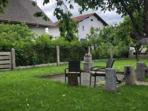 A garden outside REVAN