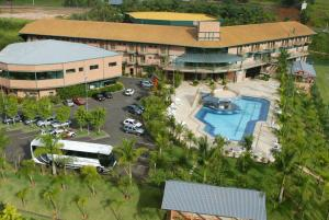 Uma vista aérea de Oscar Inn Eco Resort