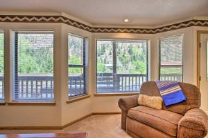 A seating area at Ouray Retreat with Patio - 1 Mi to Main Street!