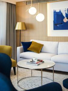 Część wypoczynkowa w obiekcie Hotel Excelsior