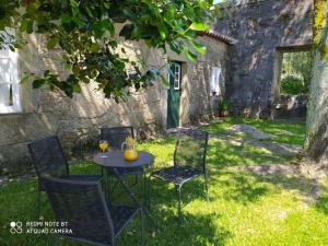 A garden outside Casa de Sta Comba