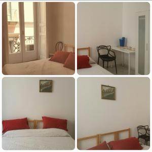 A bed or beds in a room at Il Soffione Centro Storico