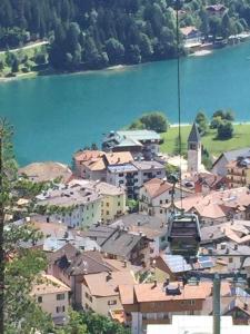 Vista aerea di Appartamenti Donini Marco
