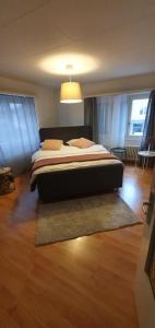 Ein Bett oder Betten in einem Zimmer der Unterkunft Gasthaus zum Ochsen