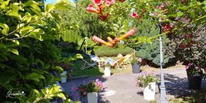 Ogród w obiekcie Gościrada