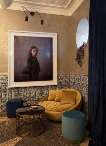 The lobby or reception area at Casa dell'Arte Club House
