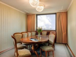 Część wypoczynkowa w obiekcie Panorama Hotel Prague