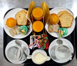 Breakfast options available to guests at Uitsig Boutique Hotel