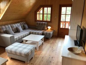 Posedenie v ubytovaní Drevenica Starý Mlyn