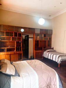Cama o camas de una habitación en Colors House