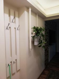 A bathroom at ARIEL Apartman