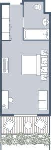 The floor plan of Das Sonnreich - Thermenhotel Loipersdorf