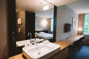A bathroom at Buitenplaats Vaeshartelt