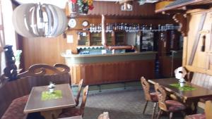 The lounge or bar area at Landhaus Wartenstein