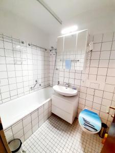 A bathroom at Apartment Anja