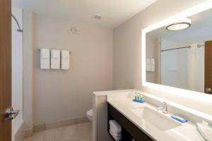 A bathroom at Holiday Inn Express Hotel & Suites Clearfield, an IHG Hotel