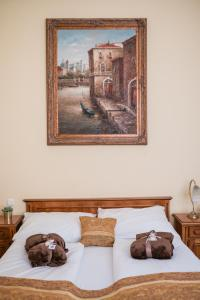 A bed or beds in a room at City Hotel UNIO superior