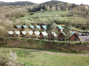 Camping Vall de Ribes a vista de pájaro