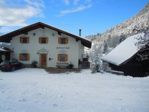 Feldererhof during the winter