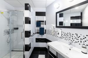 A bathroom at Villa Wilda