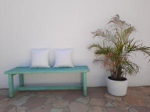 A seating area at Hostal Costa