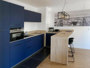 A kitchen or kitchenette at Versailles brand new flat 10mn walk from Palace