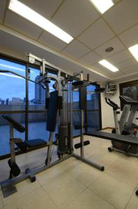 The fitness centre and/or fitness facilities at Union Residence - Heer Empreendimentos