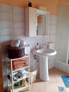Ванная комната в Apartment Irena