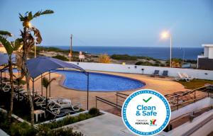 The swimming pool at or near Hotel Maritur - Adults Only